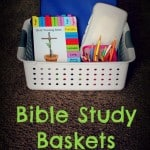 Bible Study Basket for Kids