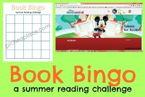 Book Bingo - a Summer Reading Challenge from PicheaPlace.com