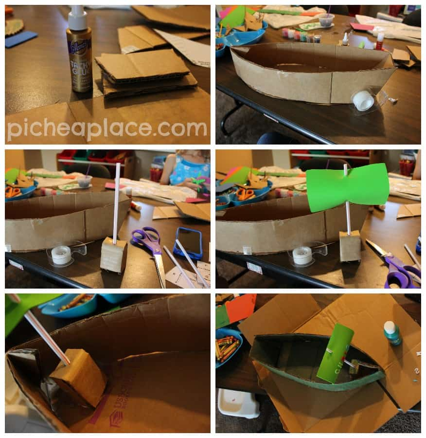 Building a Pirate Ship