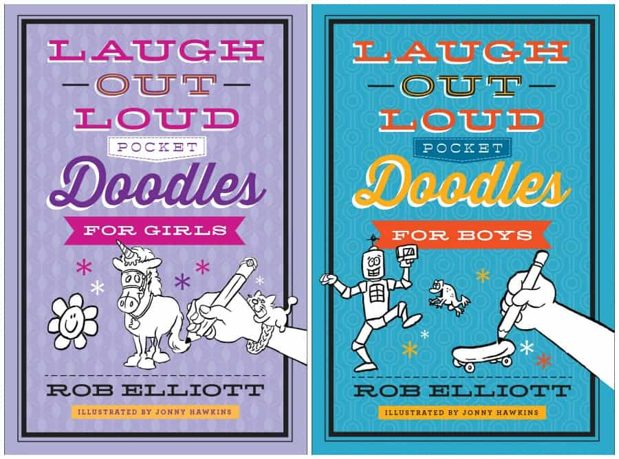 Laugh-out-Loud Doodles for Boys (and Girls)