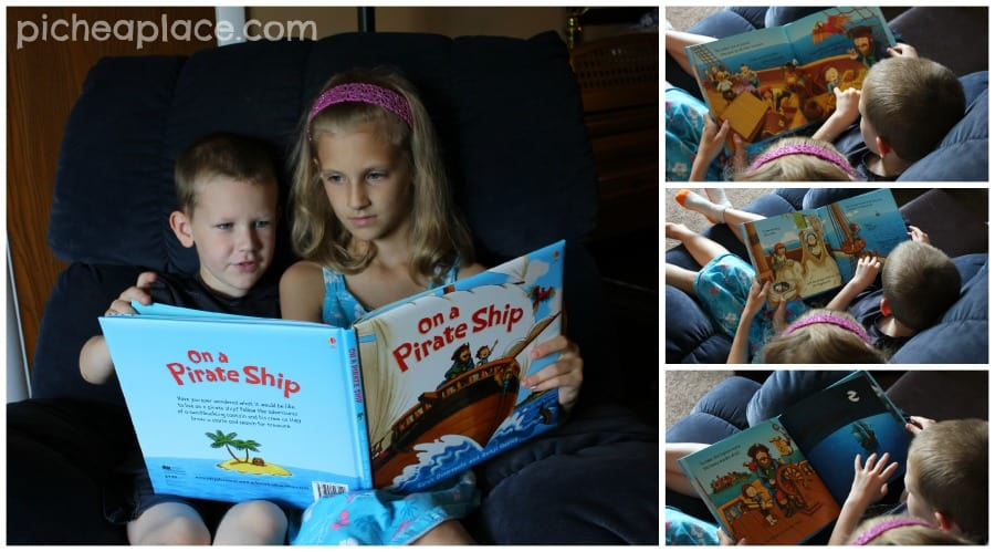 Reading On a Pirate Ship