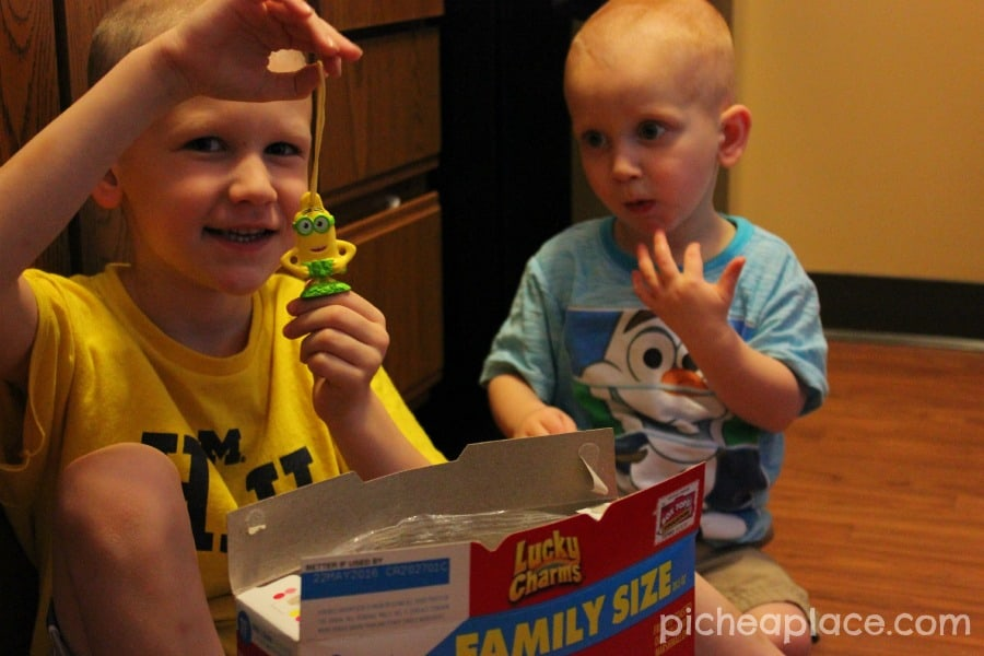 Searching for the 7th Minion - a fun and frugal activity for kids