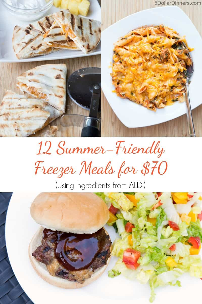 12 Summer-Friendly Freezer Meals from Aldi