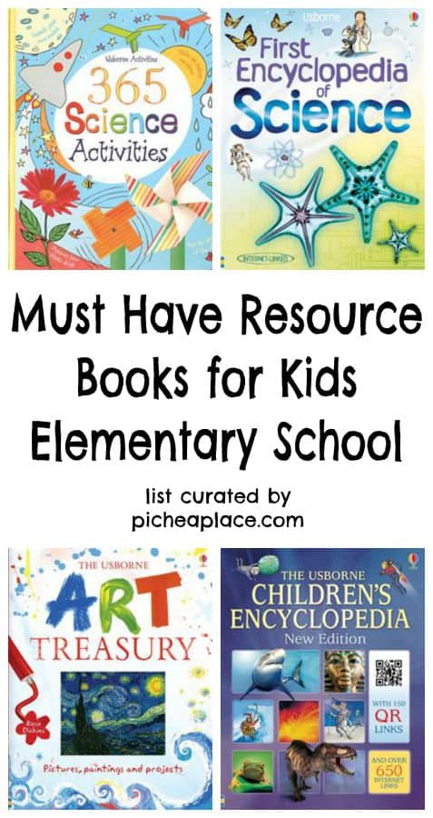 12 Must Have Resource Books for Kids | Elementary School