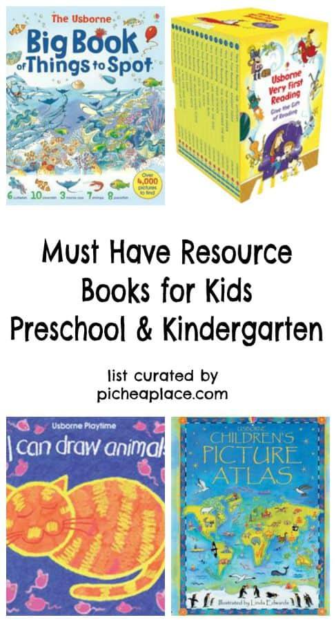 12 Must Have Resource Books for Kids | Preschool & Kindergarten