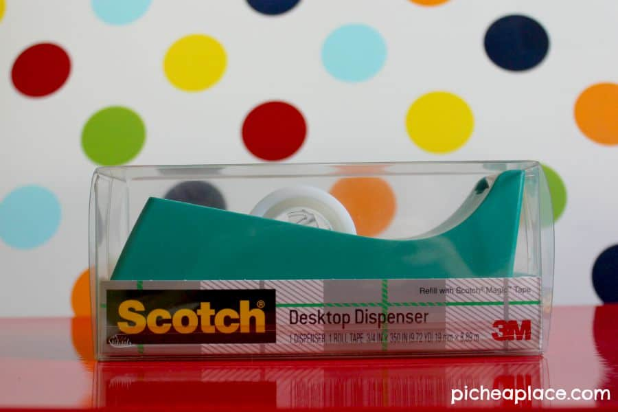 Back-to-School Gift Baskets for Teachers | Scotch Tape Desktop Dispenser
