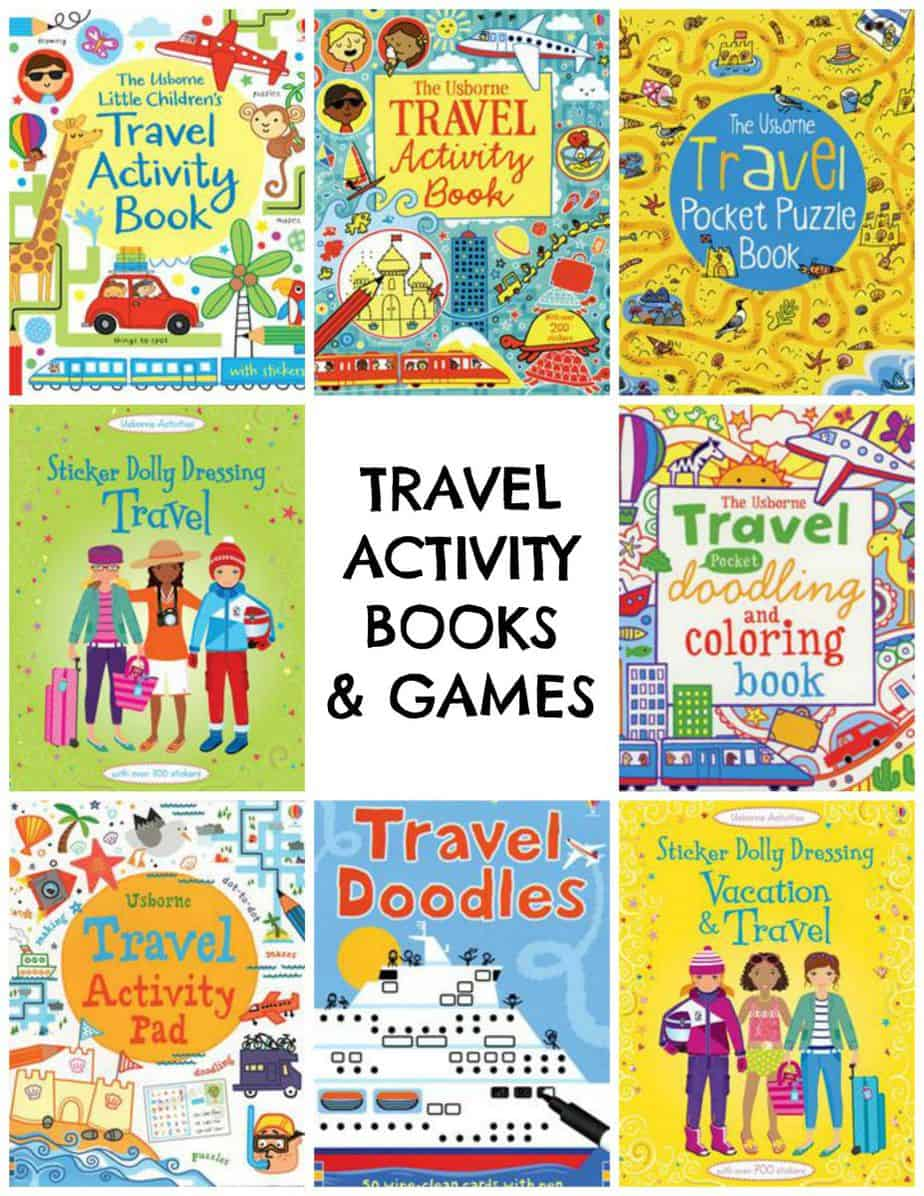 Usborne Travel Activity Books and Games