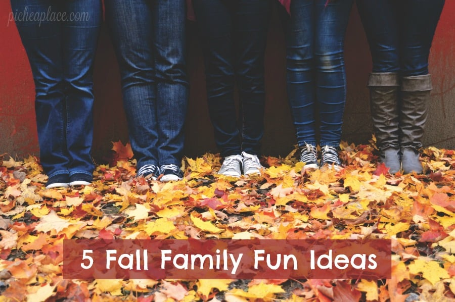 Fall is my favorite season, and it's the perfect season to spend time together as a family without spending a ton of money!