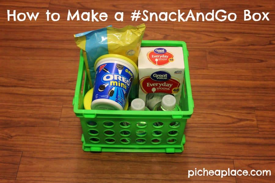 How to Make a #SnackAndGo Box