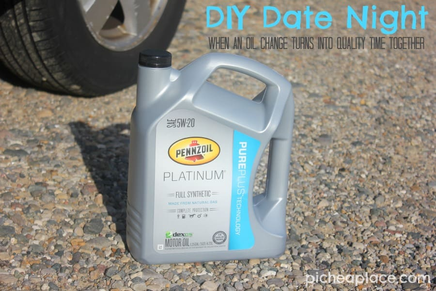 DIY Date Night | when an oil change turns into quality time together