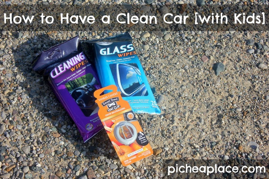 How to Have a Clean Car [with Kids]