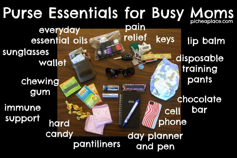 Purse Essentials for Busy Moms