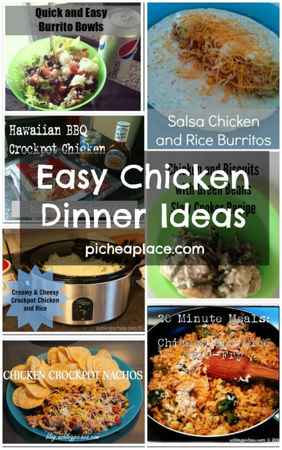 Easy Chicken Dinner Ideas