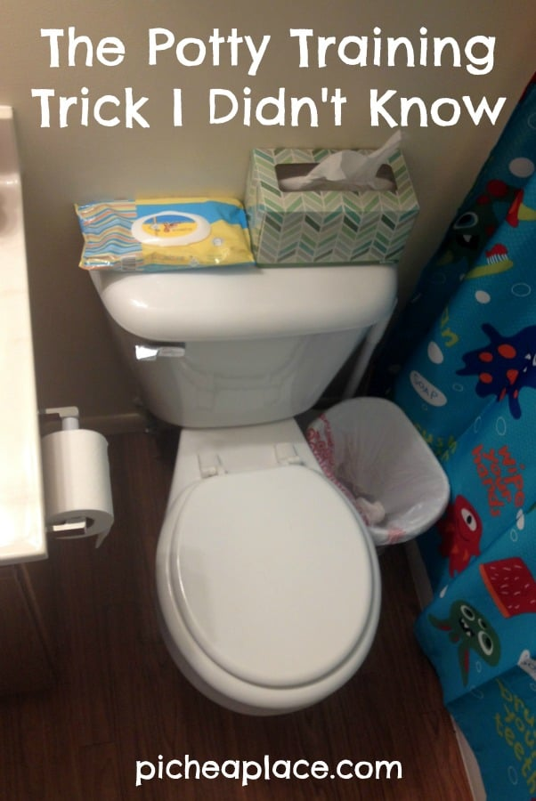 The Potty Training Trick I Didn't Know
