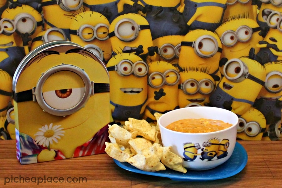 Minions Movie Night with Chili Cheese Dip Recipe
