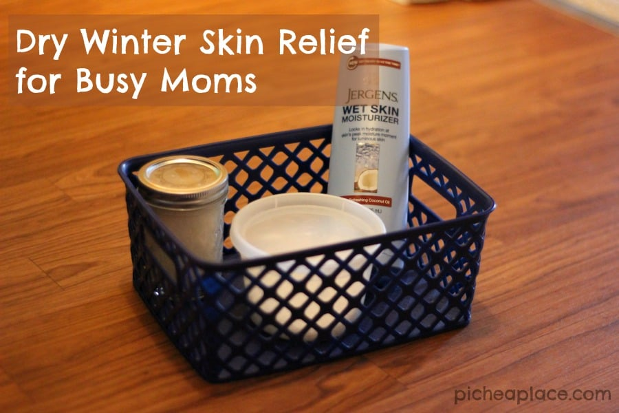 Winter Dry Skin Relief for Busy Moms