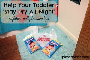 Help Your Toddler Stay Dry All Night
