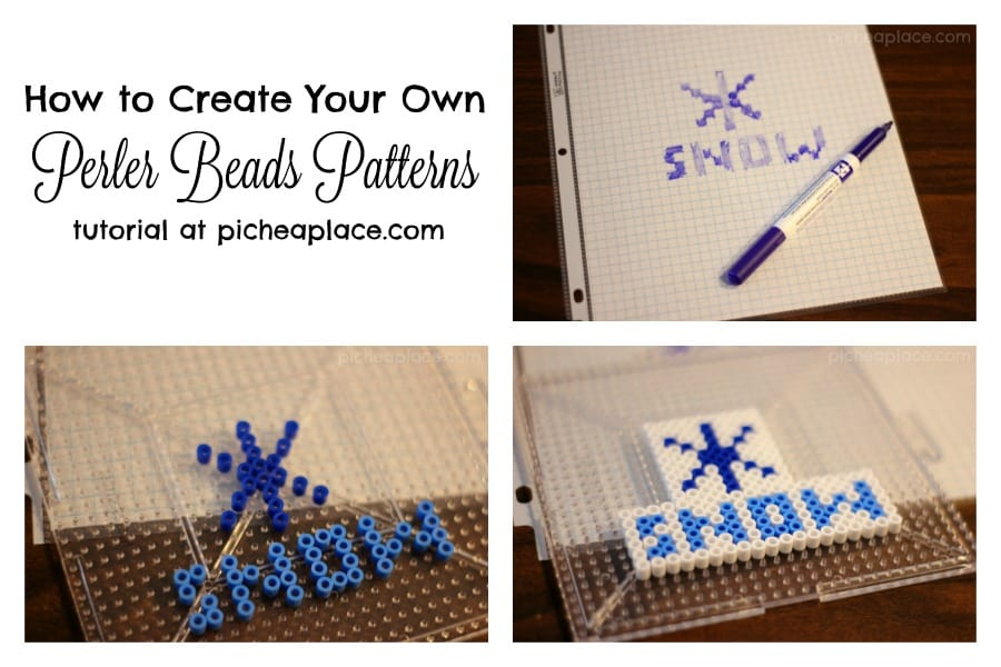 How To Create Your Own Perler Beads Patterns Diy Perler Bead Designs