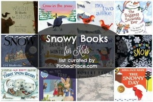 Snowy Books for Kids