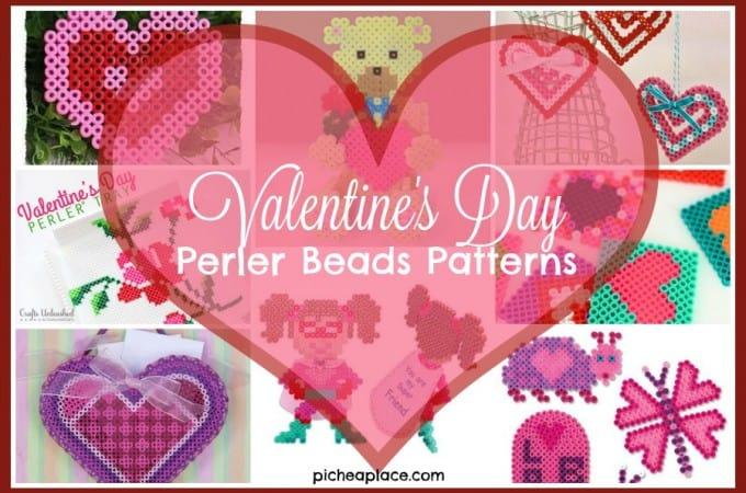 Valentine's Day Perler Beads Patterns