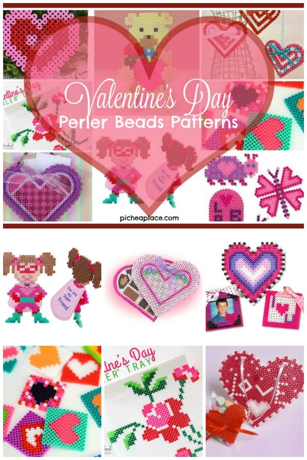 Valentines Day Perler Beads Patterns