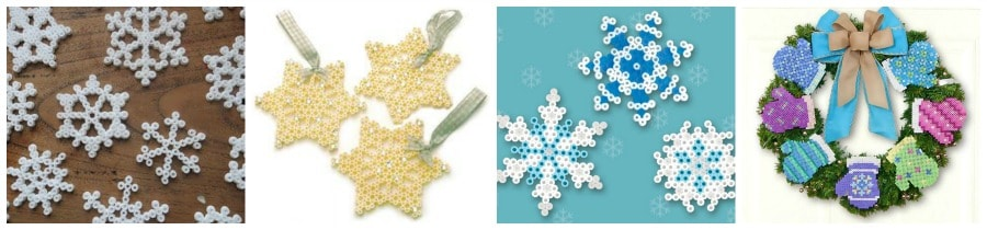 Winter Themed Perler Beads Patterns