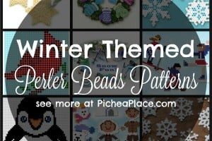 Winter Themed Perler Beads Patterns