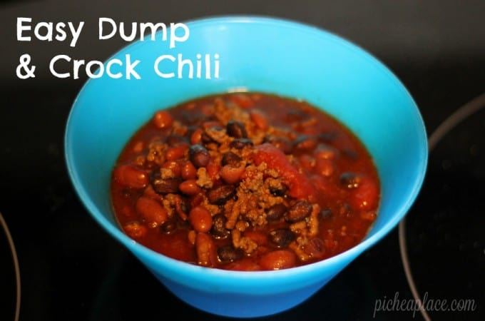 Easy Dump & Crock Chili