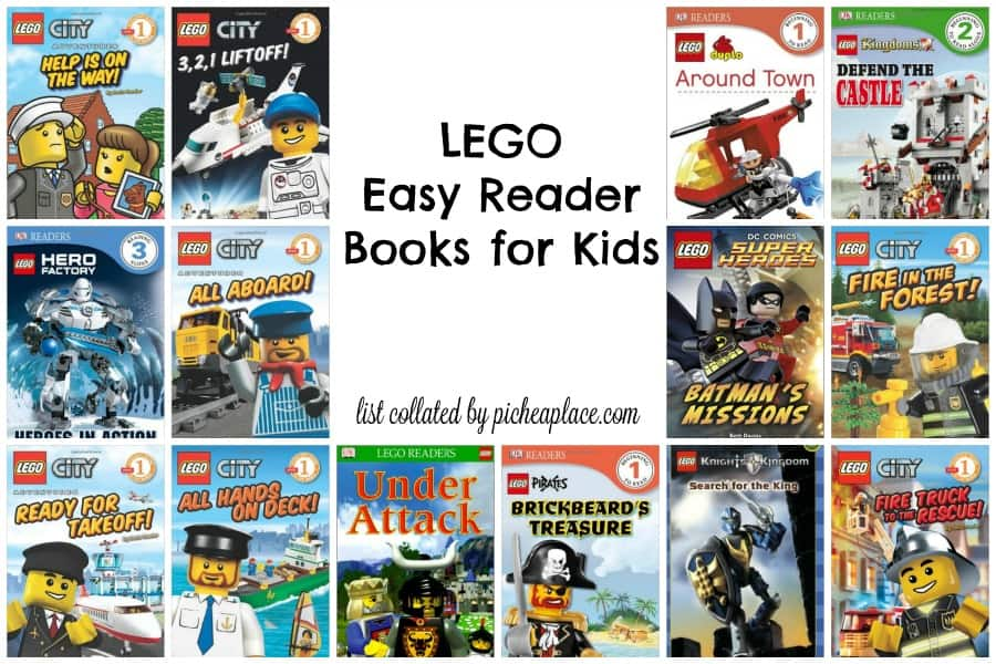 Looking for easy readers for your LEGO loving kid? Check out this great list of LEGO Easy Reader Books for Kids!