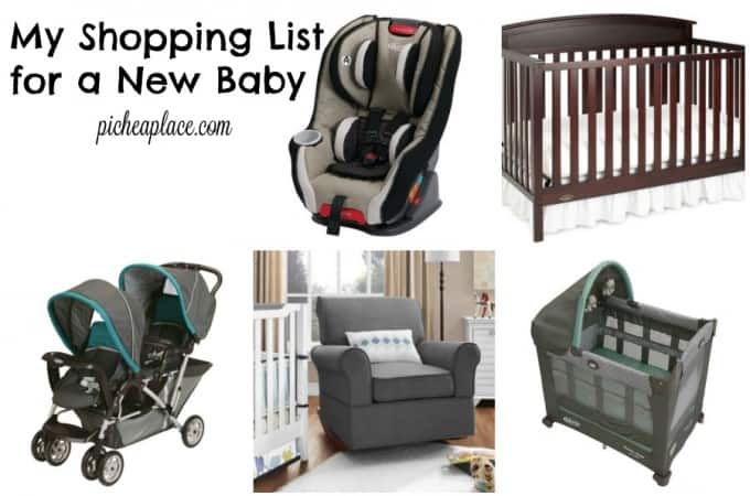 My Shopping List for a New Baby | Do you have a new baby on the way? Here are some of the basic essentials you might want to add to your baby registry...