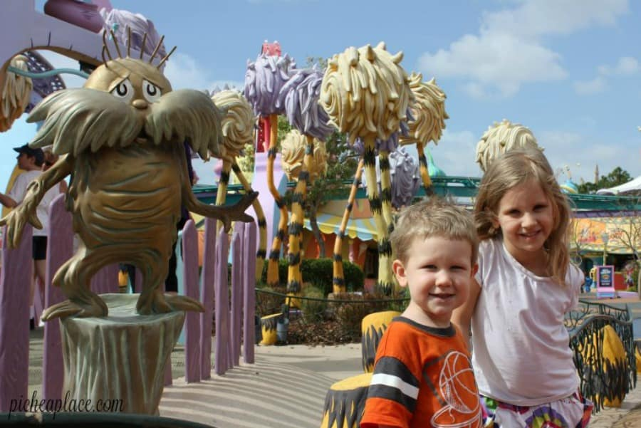 Pichea Place visits Seuss Landing at Universal Islands of Adventure