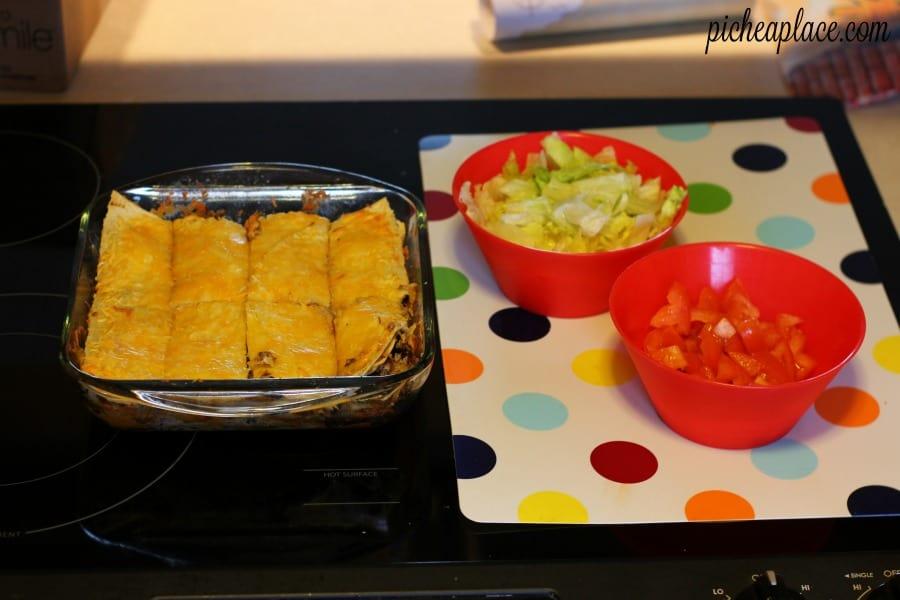 Tortilla Lasagna   an ooey, gooey, delicious alternative to taco night