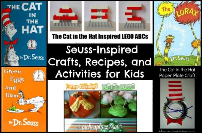Seuss-Inspired Crafts, Recipes, and Activities for Kids