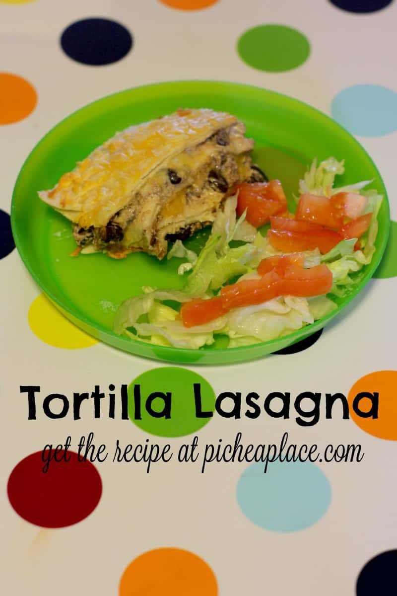 Tortilla Lasagna | an ooey, gooey, delicious alternative to taco night