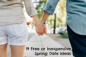 19 Free or Inexpensive Spring Date Ideas | great ideas for dating your spouse on a budget