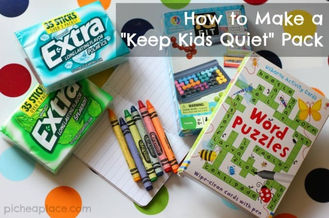 """How to Make a """"Keep Kids Quiet"""" Pack"""