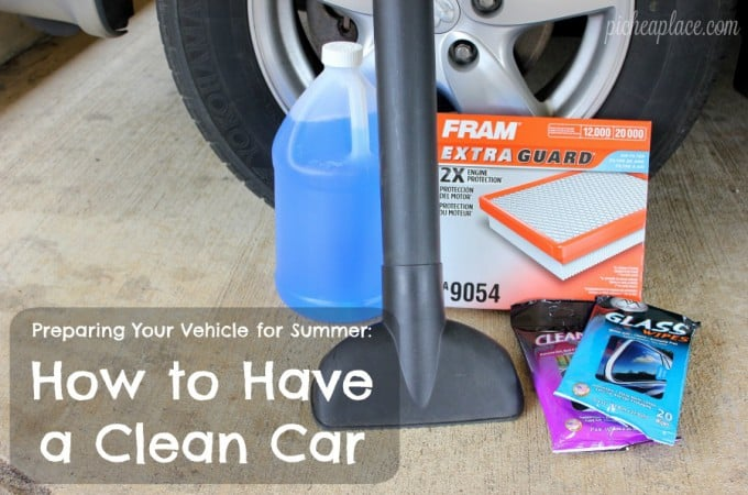 Preparing Your Vehicle for Summer: How to Have a Clean Car