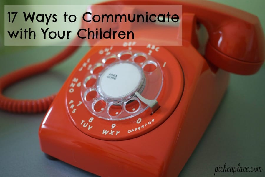 As busy parents, it is often easier to simply tell our children what we need them to know, forgetting that real communication is a two-way street and has a purpose of growing a deeper and stronger relationship. It is important to communicate with your children - both talking to them and listening to them - in order to build a solid relationship with them.
