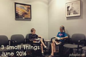 Setting SMART goals, three at a time... 3 Small Things: June 2016
