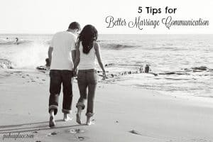 Has your marriage become a victim of a lack of communication beyond the details of the day? As busy parents it can be easy to forget to make communication with our spouses a priority. Here are five tips for better marriage communication to help you reconnect with your spouse...