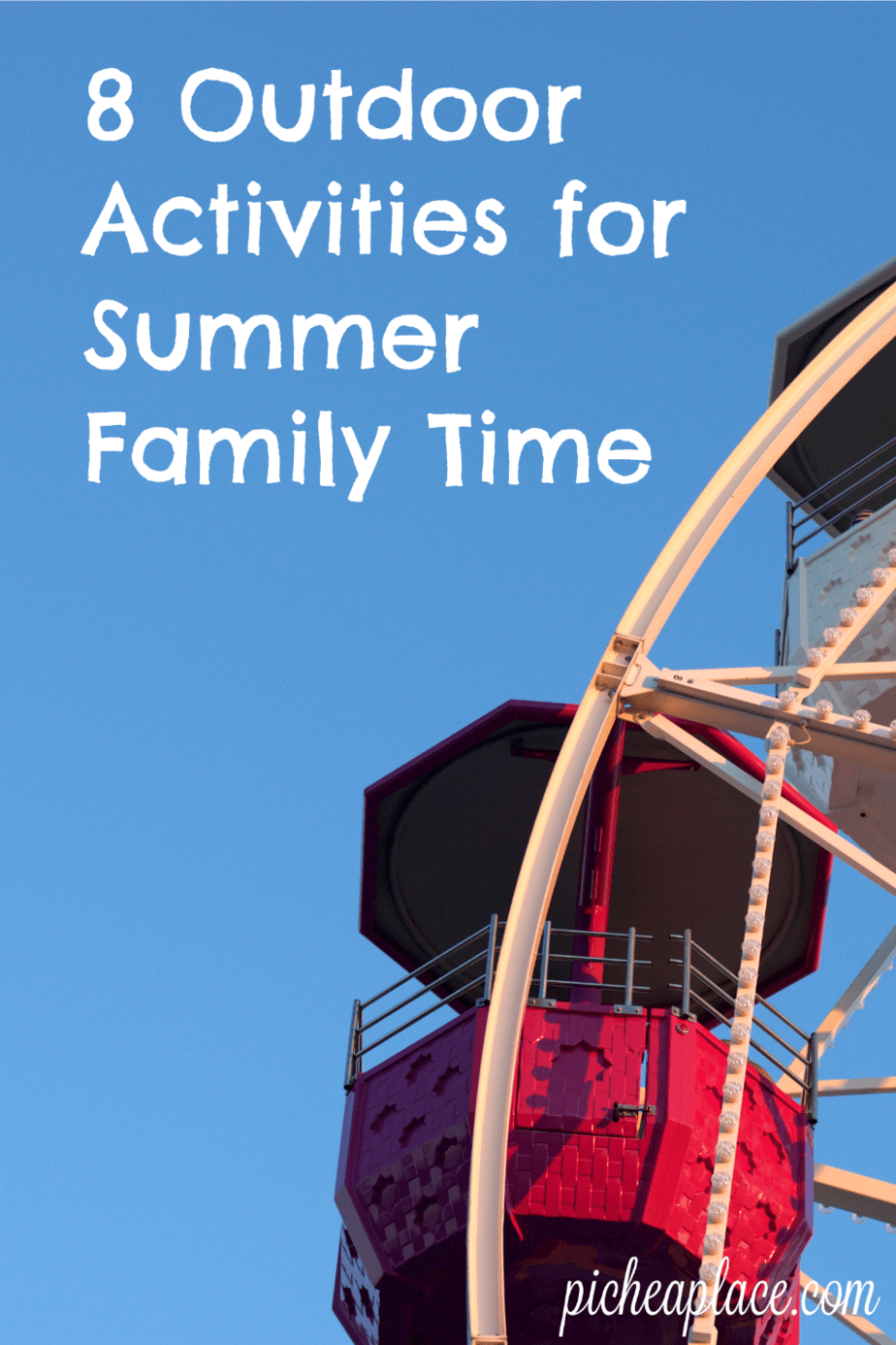 With the end of school comes summer break and time for busy families to spend quality time together. Even if your family cannot take an extended trip together, there are still many outdoor activities you can enjoy together as a family this summer. | 8 Outdoor Activities for Summer Family Time