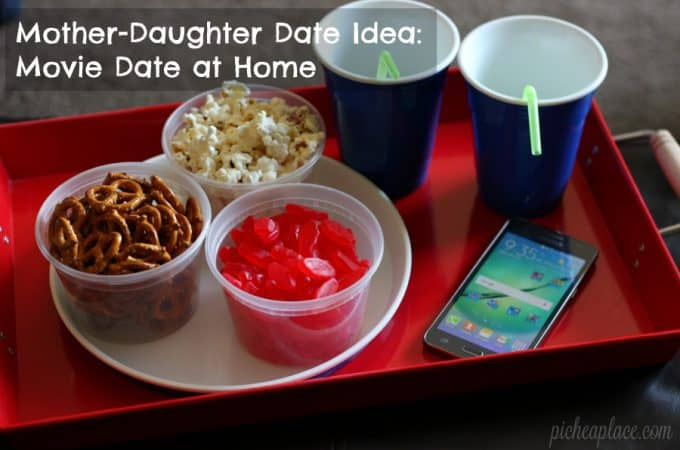 Mother-Daughter Date Idea: Movie Date at Home