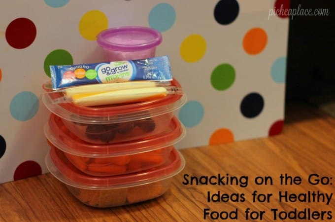 Snacking on the Go: Ideas for Healthy Food for Toddlers