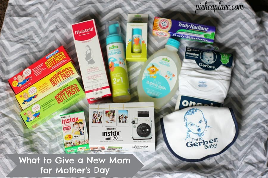 Looking for Mother's Day gift ideas for a new mom? Here are some great fun and practical suggestions of what to give a new mom for Mother's Day...
