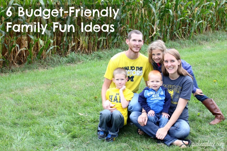 Spending time together as a family is important, but it does not have to be expensive. Here are six ideas for family fun on a budget.