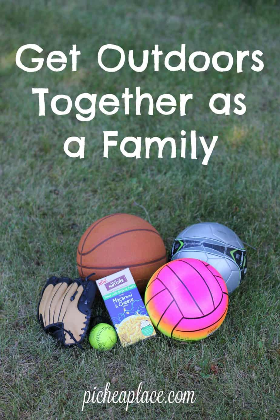 We always enjoy spending time outdoors, whether we're active or just relaxing - it's a great way to get in some quality time together as a family in the midst of a busy season of life.   Get Outdoors Together as a Family