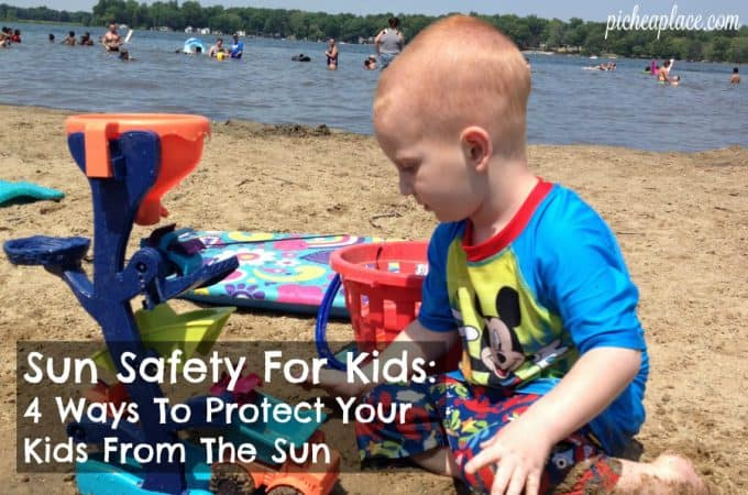 Sun Safety For Kids: 4 Ways To Protect Your Kids From The Sun