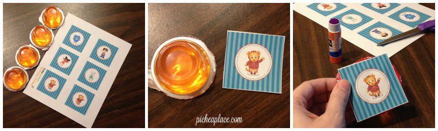 Daniel Tiger party food idea   This Daniel Tiger birthday party was so much fun for the kids and super easy for this busy mom to throw together. Click through to the post to get ideas for Daniel Tiger themed food, crafts, activities, and more!