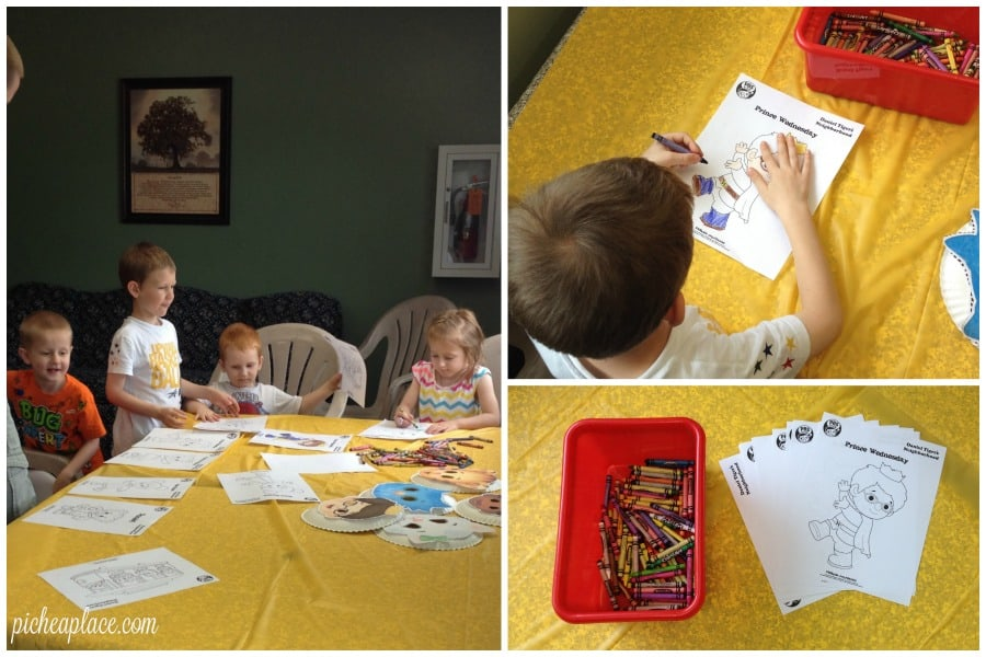 Daniel Tiger Coloring Pages   This Daniel Tiger birthday party was so much fun for the kids and super easy for this busy mom to throw together. Click through to the post to get ideas for Daniel Tiger themed food, crafts, activities, and more!