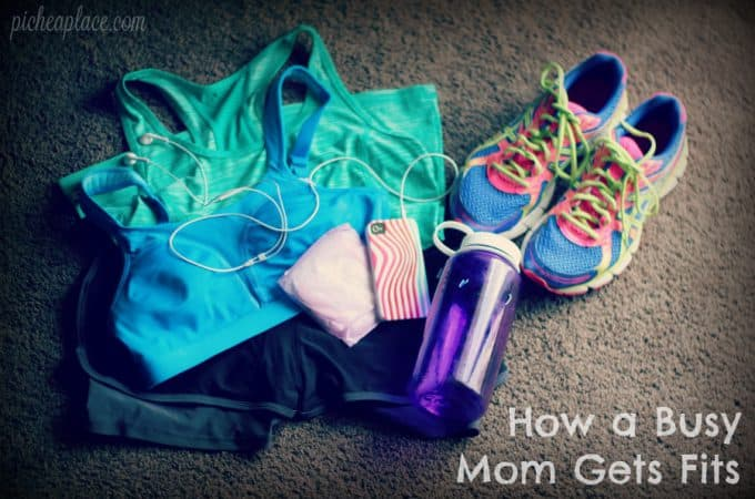How a Busy Mom Gets Fit